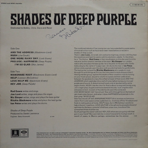 Beatedelic Records 60s And 70s Vinyl Cds Original Pressings And Reissues Deep Purple Shades Of Deep Purple Emi Odeon 1c062 04175,Subway Tile Backsplash Pictures